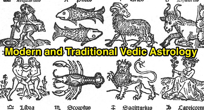 Modern and Traditional Vedic Astrology