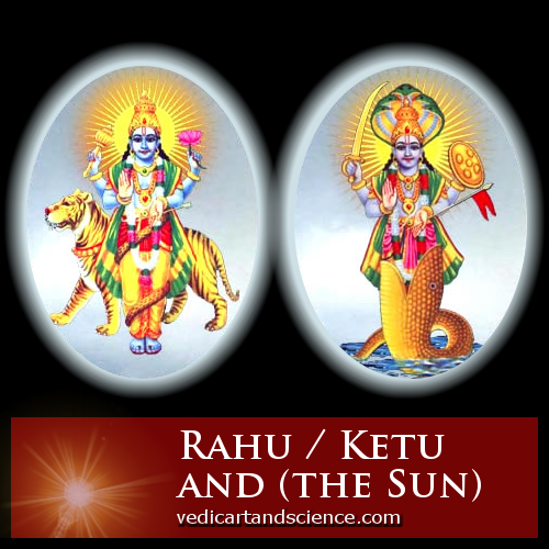 Rahu / Ketu and the Sun