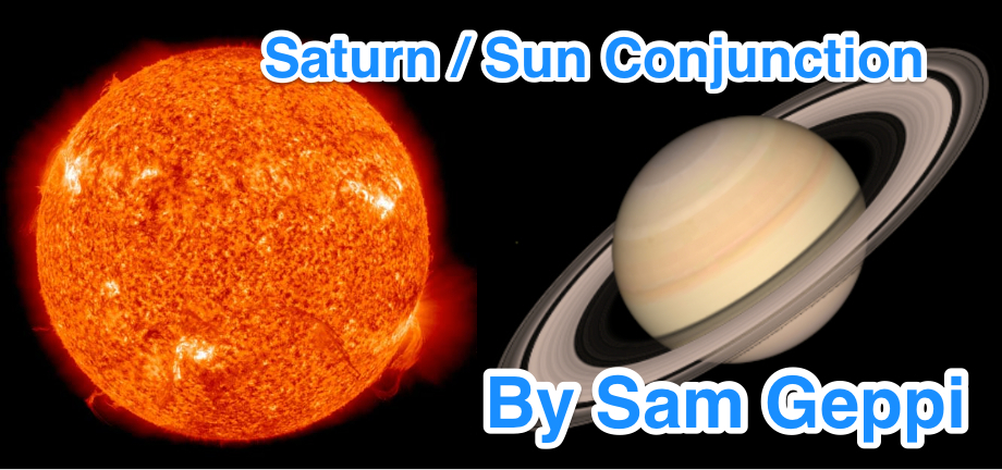 Saturn and Sun Conjunction
