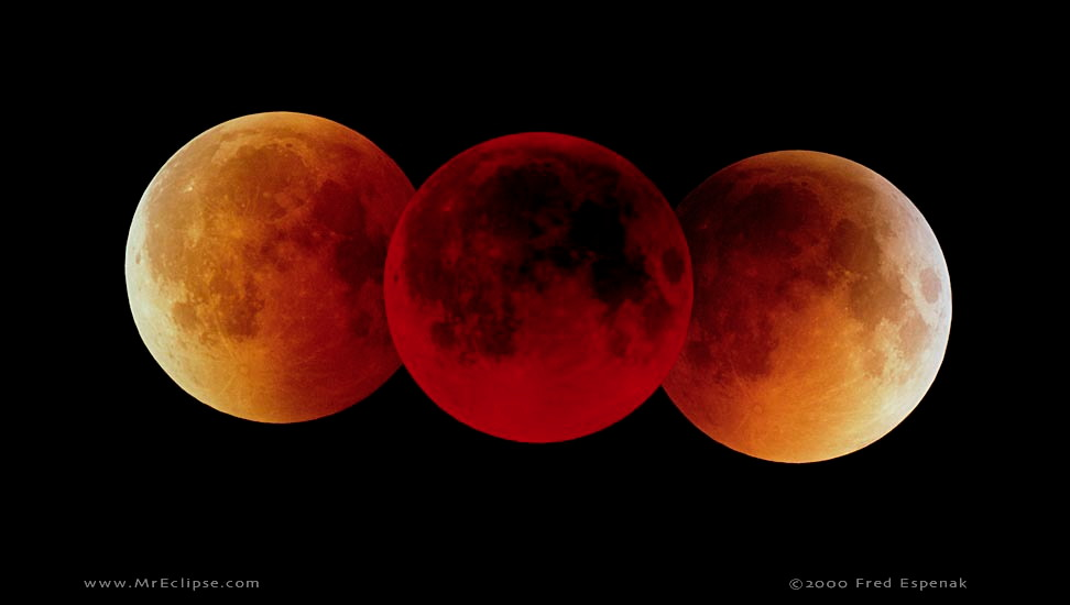 Lunar Eclipse in Virgo