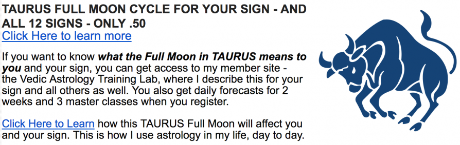 Full Moon in Taurus – December 13, 2016